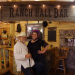 You never know who might show up at the Ranch Hall Bar at Historic Reesor Ranch!