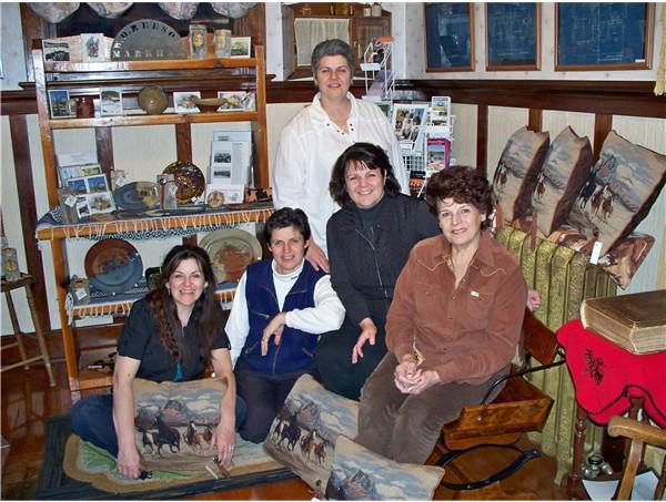 Kickin' Cowgirl Creations Giftshop - Handmade & local at Historic Reesor Ranch.