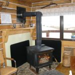 Do you crave woodstove fire warmth? Enjoy at Log Cabin, Historic Reesor Ranch.