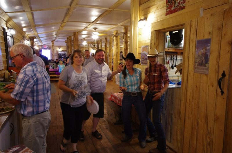 Fill up with fun and great meals at Historic Reesor Ranch!