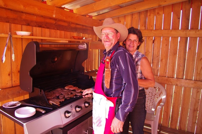 AAA Locally raised beef steak - healthy and tasty at Historic Reesor Ranch.