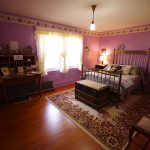 First generation W.D. & Alice Reesor guest bedroom at Historic Reesor Ranch.