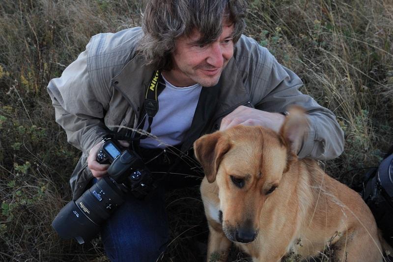Dolly and photographer Thomas at Historic Reesor Ranch