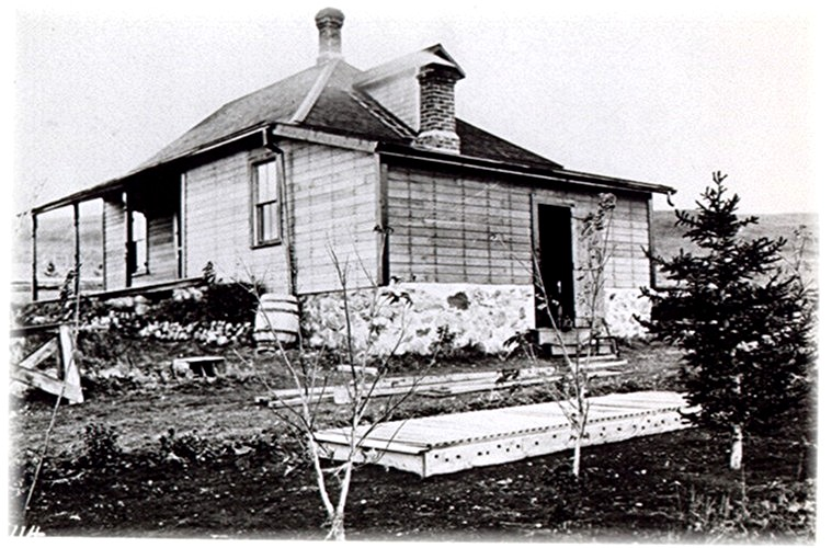 Original 1906 house at Historic Reesor Ranch