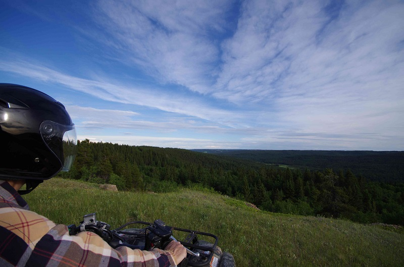 Guided ATV Tour - Overlooking Battle Creek Valley at Historic Reesor Ranch