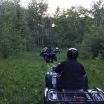 ATV Guided Tour through lush forest at Historic Reesor Ranch