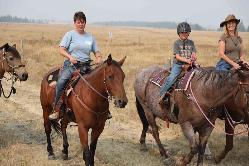 Wrangler Deanna on Wish Ride at Historic Reesor Ranch.