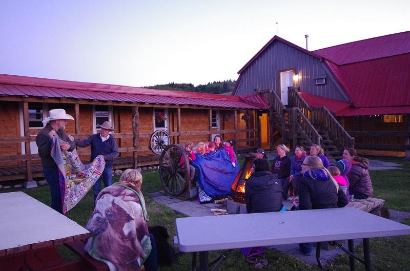 Girl Guide Camp at Historic Reesor Ranch