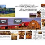 Old Log Barn and Ranch Hall Grill Floor plans at Historic Reesor Ranch.