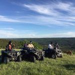 ATV Tours - Enroute to enjoy diverse terrain at Historic Reesor.