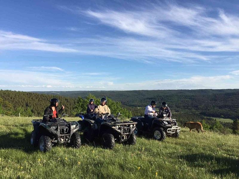 ATV Tours - Enroute to enjoy diverse terrain