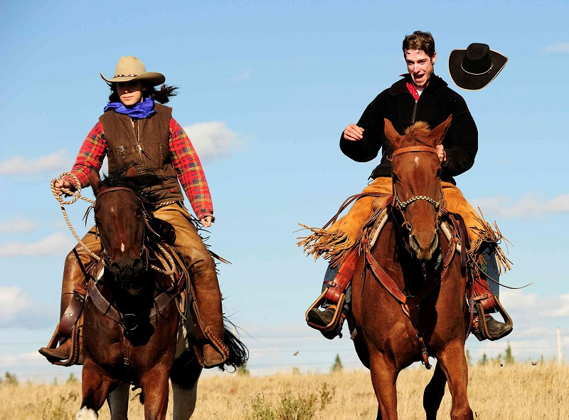 Wranglers tipping their hats at Historic Reesor Ranch