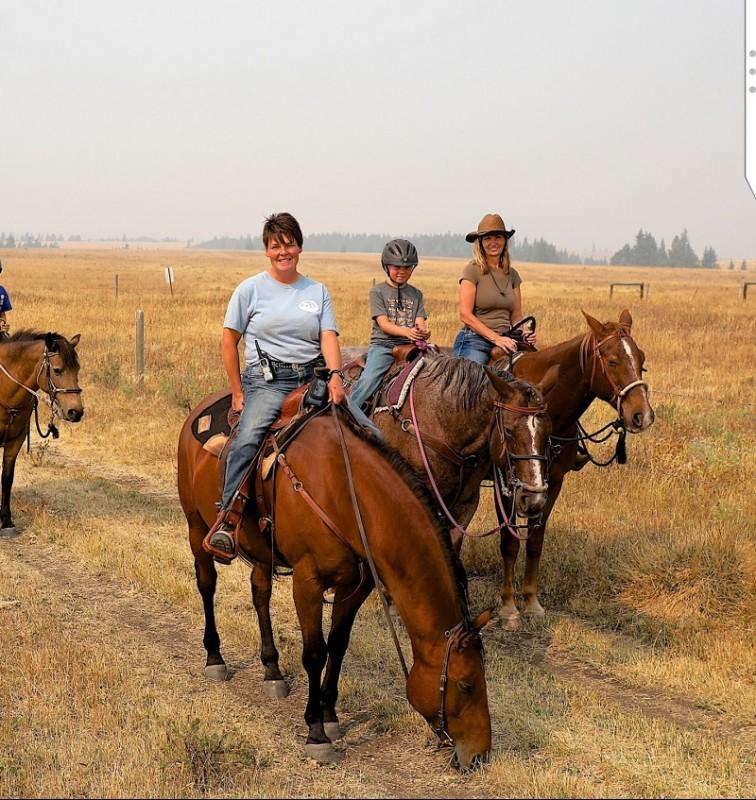 Wrangler Deanna at Historic Reesor Ranch.