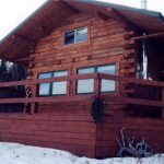 Log Cabin winter getaway at Historic Reesor Ranch