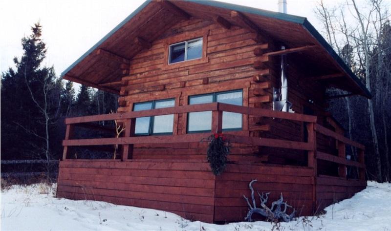 Log Cabin winter getaway at Historic Reesor Ranch