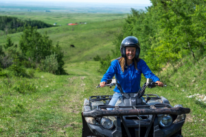 ATV touring at Historic Reesor Ranch