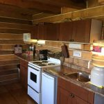 Log Cabin Kitchenette