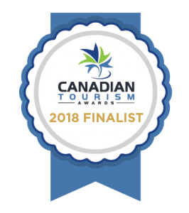 Canadian Tourism Award 2018 Finalists - Small/Medium sized business
