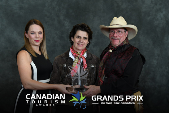Canadian Tourism Awards 2018 Winner Small/Medium Business sponsored by Hilton Worldwide