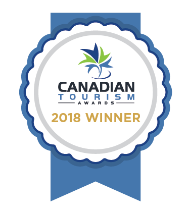 Canadian Tourism Awards - Small/Medium Business Winner 2018