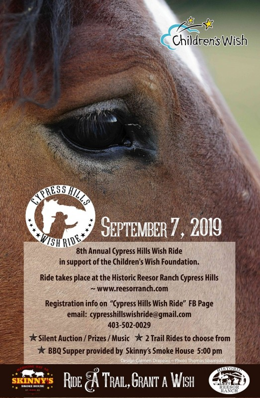 Cypress Hills Wish Ride Sept 7, 2019