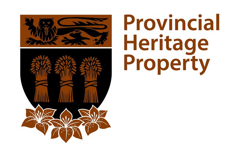 Provincial Heritage Property Emblem Brown