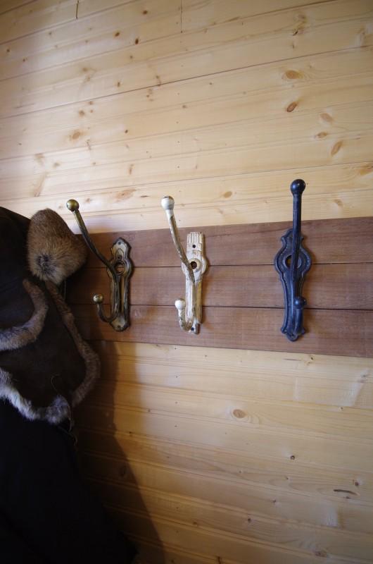 Frontier Cabin coat hooks