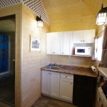 Frontier Cabin kitchenette