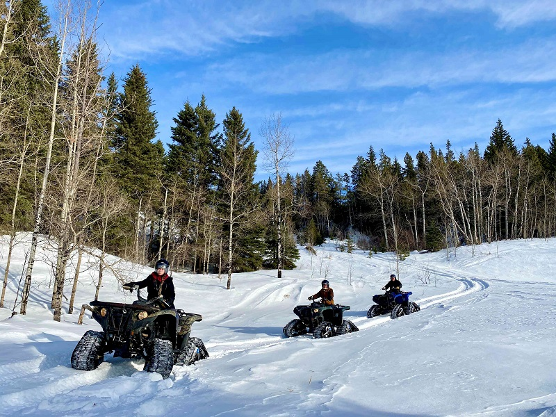 Winter ATVs over hangovers