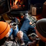 Wood burning fires are the perfect place to snuggle!