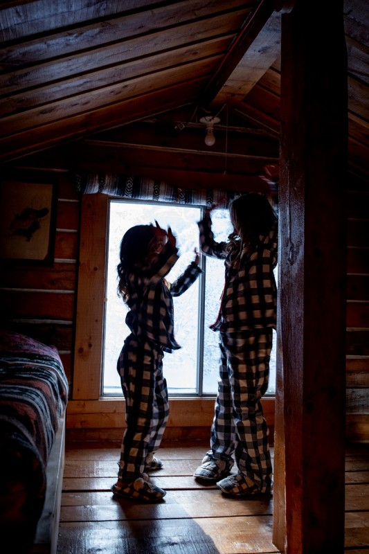 Dancing in the loft!