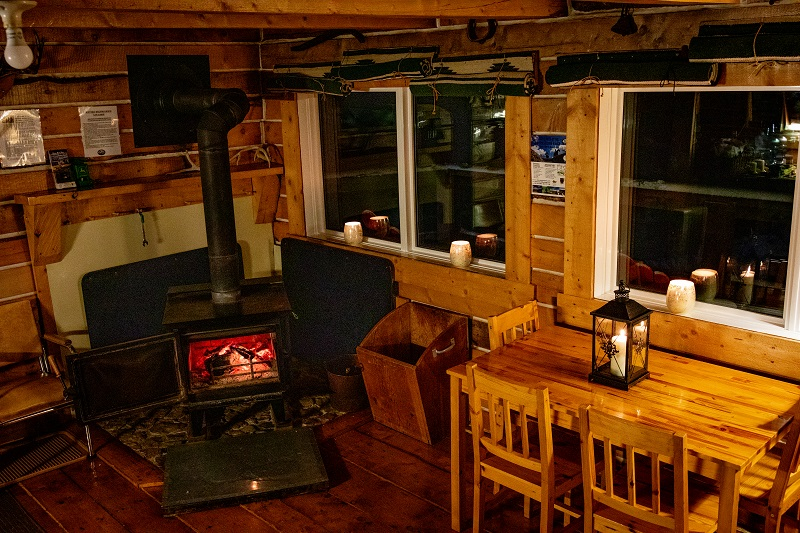 Cozy and warm, waiting for you!