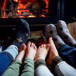 Warm your toes by the fire