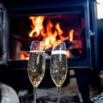 Champagne by the fire anyone?