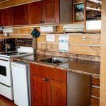 Log Cabin Kitchenette