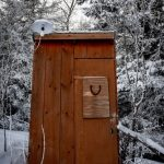 Cutest outhouse you will find!