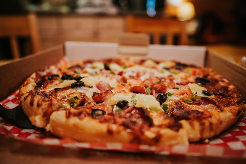 Locally made pizza, baked to order and delivered to your door