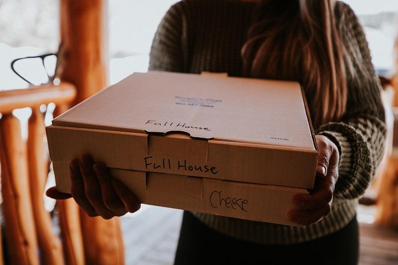 Pizza delivery to your door!