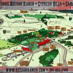 Ranch Yard Map
