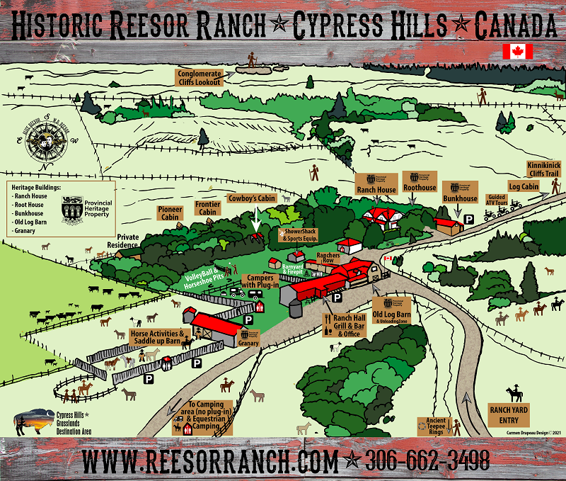 Ranch Yard Map