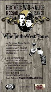 Wine in the West Tours at Historic Reesor Ranch