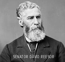 Senator David Reesor 1867 Confederation